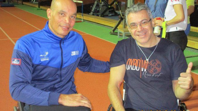 Joel Jeannot, champion du monde en paratriathlon avec Yves