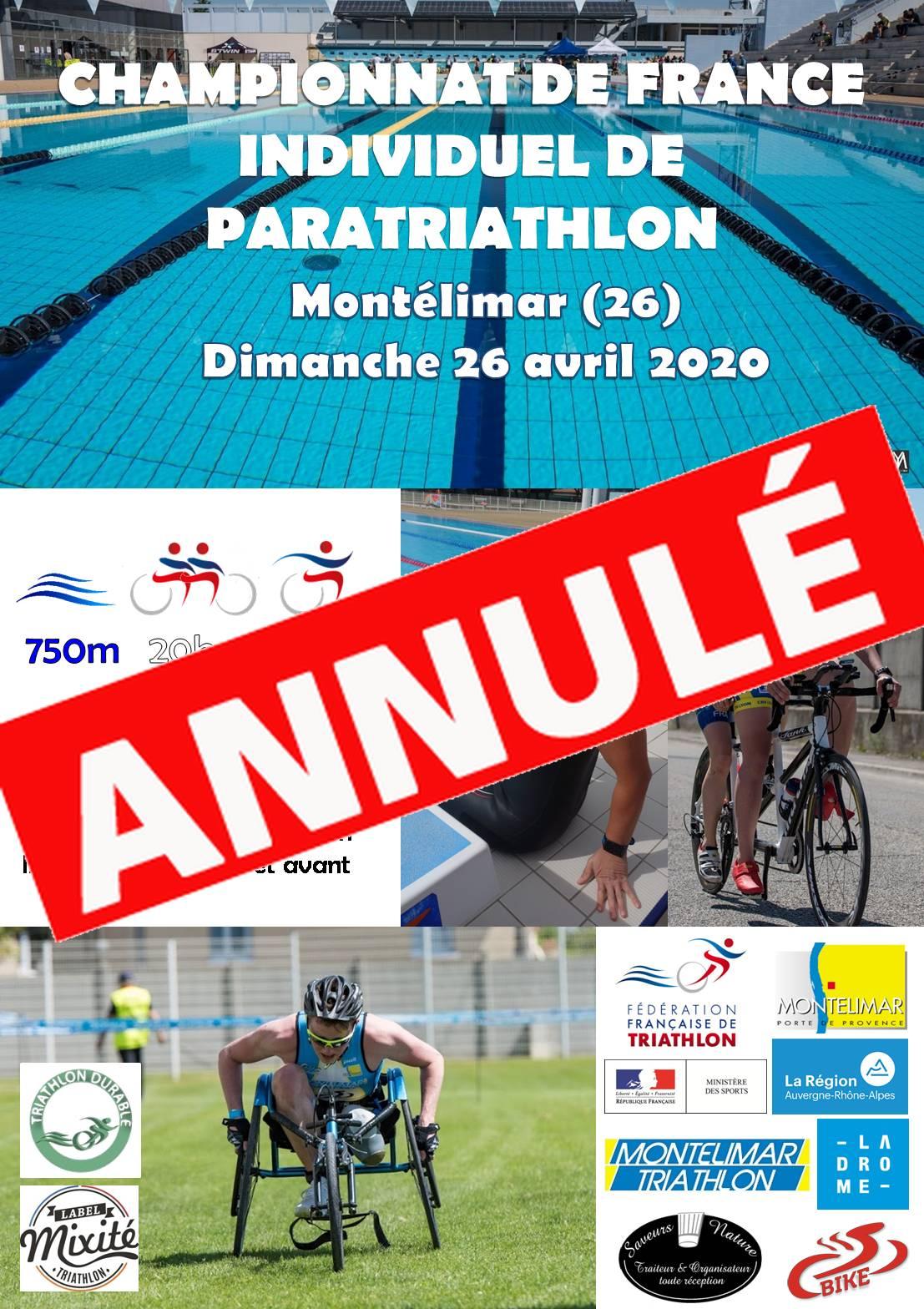 Championnat de France individuel de Paratriathlon